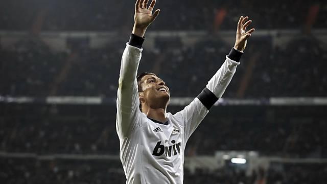 Ronaldo bejubelt das 3:2 gegen San Sebastian