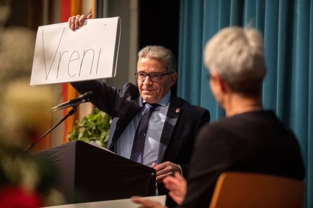 Urs Ackermann hatte einen Poetry Slam vorbereitet