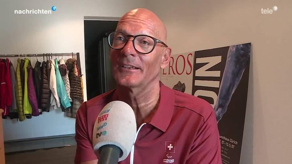 Heinz Frei geht mit 64 Jahren an Paralympics