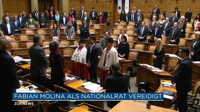 Fabian Molina wird jüngstes Nationalratsmitglied