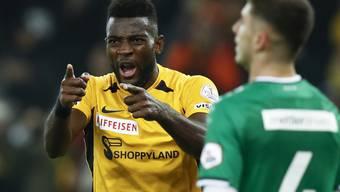 Siegreich trotz Fehlern und Verletzten: Die Young Boys mit Torschützenleader Jean-Pierre Nsame senden gegen St. Gallen ein weiteres Signal an die Konkurrenz