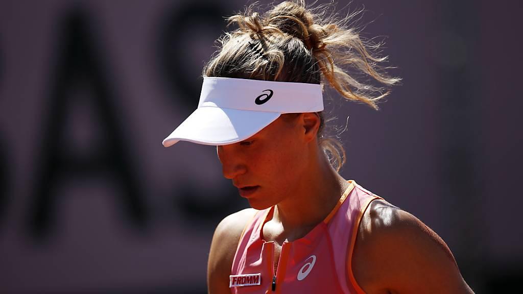 Die Zürcherin Viktorija Golubic trifft am Montag in Wimbledon auf die Russin Veronika Kudermetowa