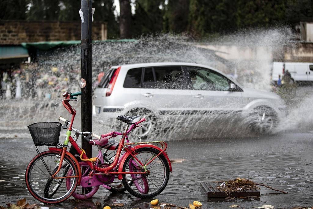 Unwetter in Italien (© keystone)