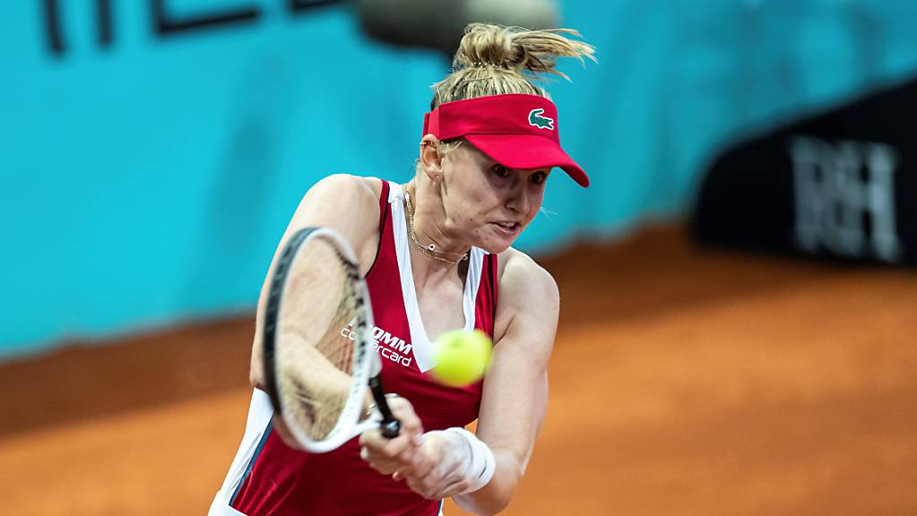 Jil Teichmann musste sich nach ihrem spektakulären Sieg gegen Jelina Switolina in der 2. Runde von Madrid geschlagen geben