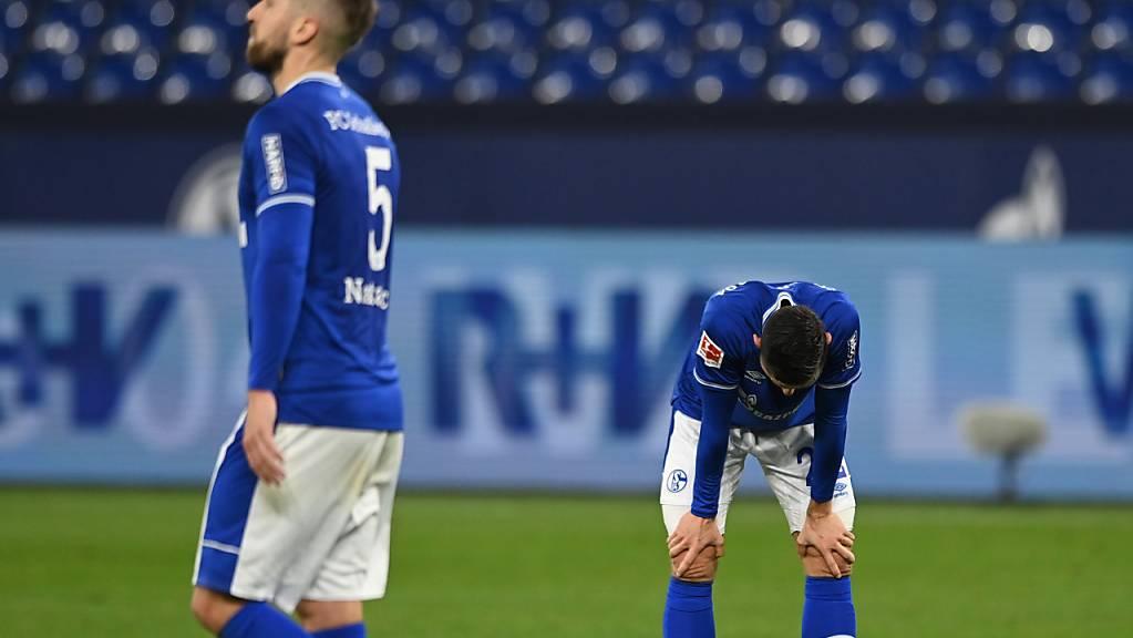 Bei Schalke läuft seit Wochen nicht viel zusammen