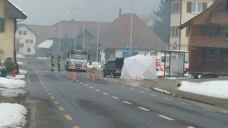 Beim geflüchteten Unfallfahrer handelt es sich um einen 37-jährigen Aargauer.