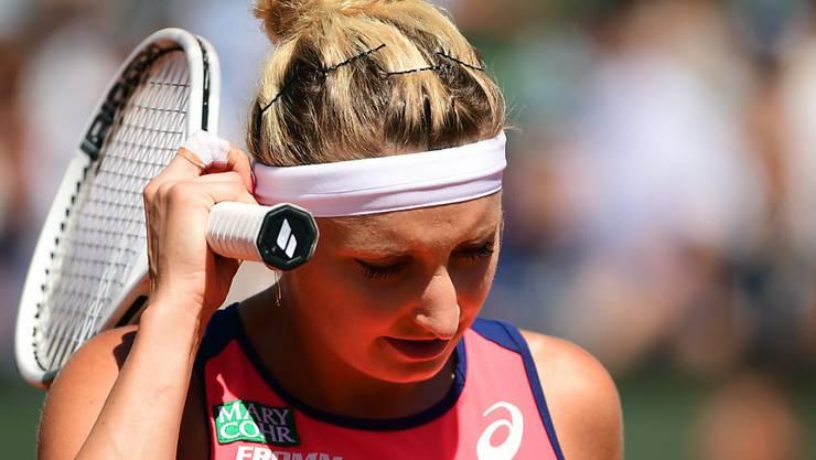 Timea Bacsinszky ist der Auftakt in die Rasen-Saison missglückt