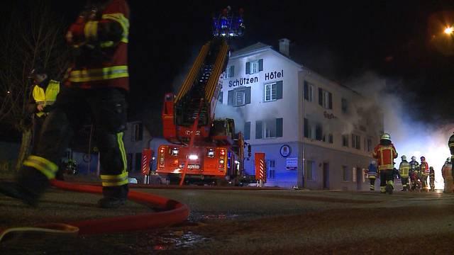 Anklage: Brandstifter von Laufenburg