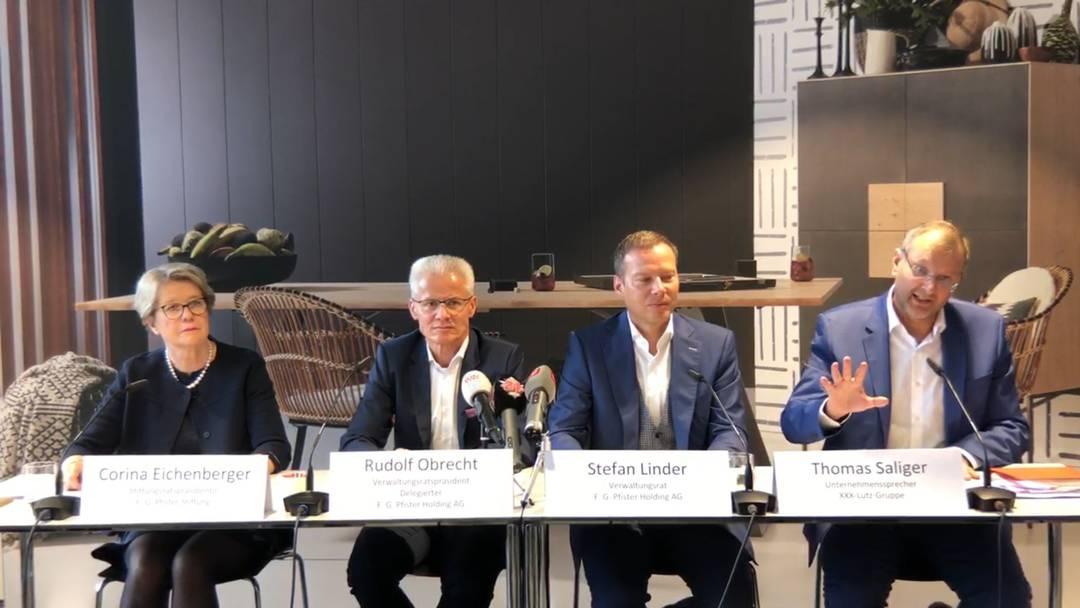 «Wir glauben, das Management muss im Land bleiben»: XXXLutz-Sprecher Thomas Saliger erklärt die Firma, die Möbel Pfister gekauft hat