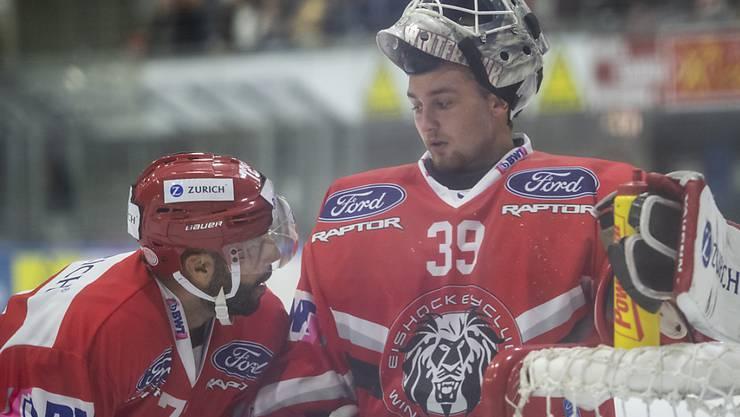 Auch in La Chaux-de-Fonds auf verlorenem Posten: Der EHC Winterthur verlor beim Debüt des neuen Trainers Misko Antisin