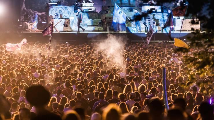 Festivaloberhaupt Christof Huber hat am Sonntag Bilanz gezogen und spricht von einem «extrem friedvollen» Event.