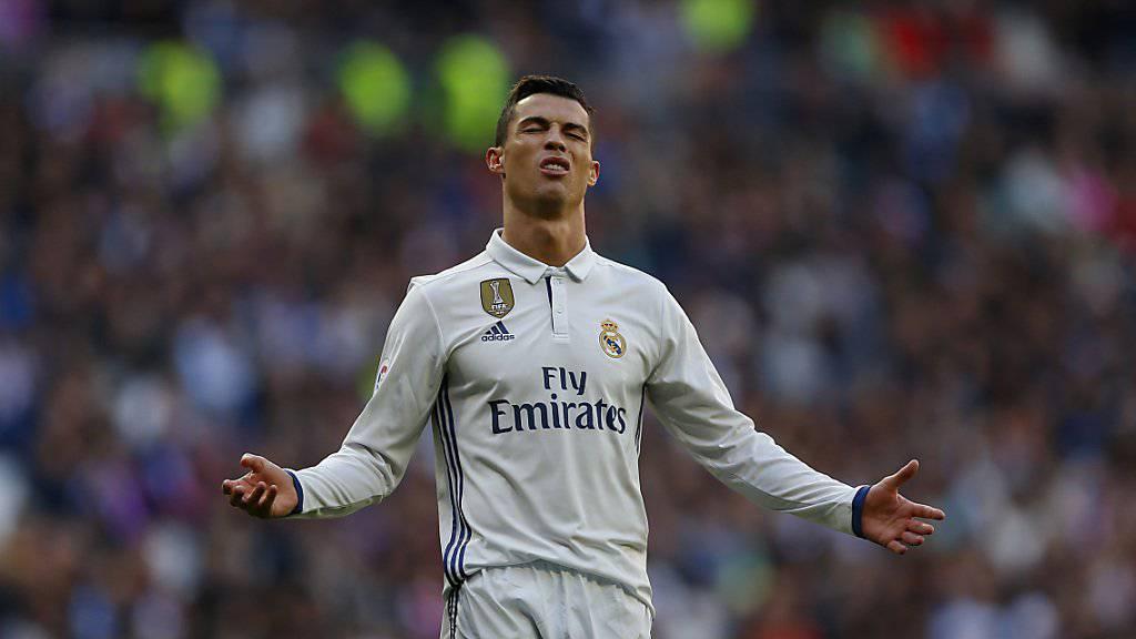 Real Madrids Cristiano Ronaldo könnte heute Abend zum vierten Mal als Weltfussballer des Jahres gewählt werden