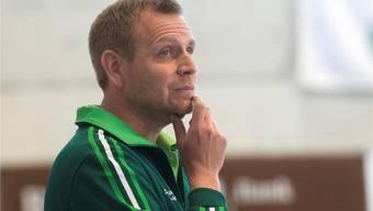 Wilers Coach Johan Schönbeck tüftelt an der Taktik.