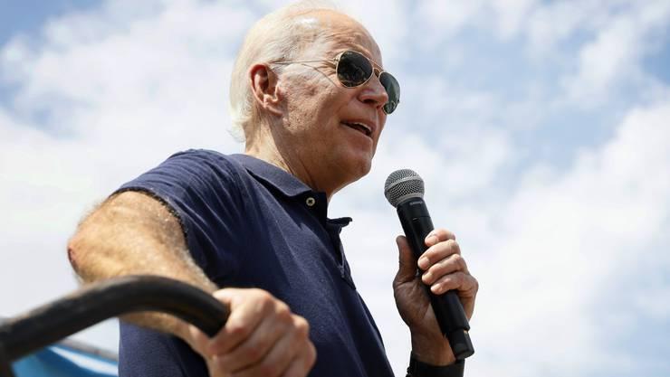 Joe Biden, 76, will Präsident werden.