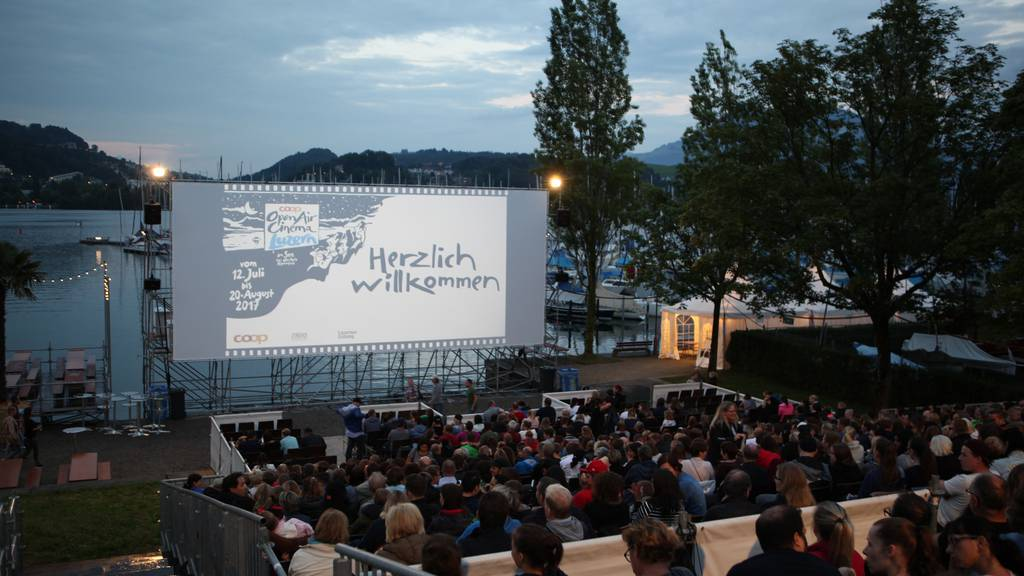 Coop Open Air Cinema Luzern: Gewinne Tickets