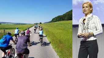 Dieses Jahr wird Wetterfee Sandra Boner in Solothurn den «Startschuss» geben.