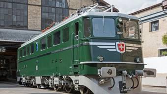 Lokomotive Aargau bei SLM