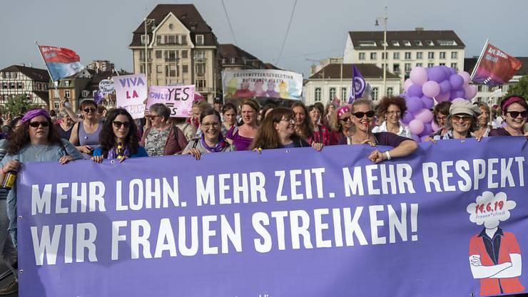 Es war eine der zentralen Forderungen des Frauenstreiks 2019: Lohngleichheit.