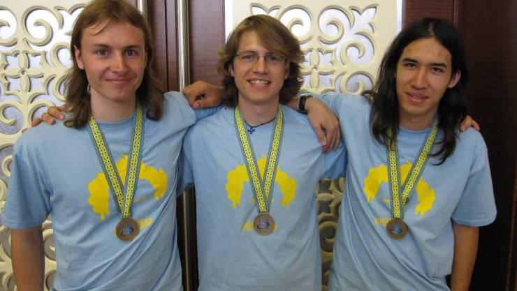 Bronze an Mathe-Olympiade