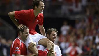 Davis Cup Halbfinal: Schweiz gegen Italien - Tag 3