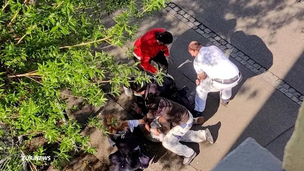 Tötungsdelikt in Altstetten: Handwerker halfen bei Festnahme