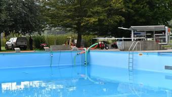 Beginn Umbau Badi Freibad Egerkingen