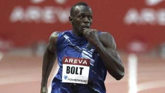 Usain Bolt gewinnt über 200 m in  20,03