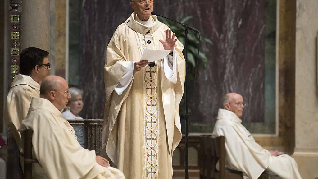 Der Erzbischof von Washington, Kardinal Donald Wuerl, soll den massenhaften sexuellen Missbrauch von Kindern durch katholische Priester in den USA gedeckt haben. (Archiv)