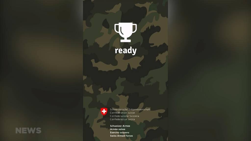 Neue Sport-App der Armee für angehende Rekruten