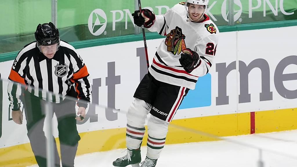 Pius Suter, letzte Saison Topskorer in der National League, überzeugt auch in der NHL