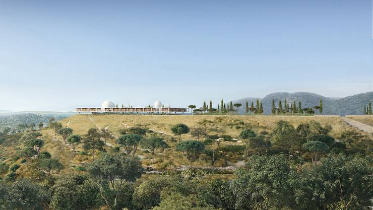 Das Berggruen Institute soll an spektakulärer Lage oberhalb von Los Angeles zu stehen kommen.  zvg