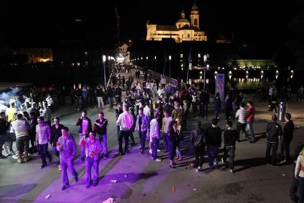 Auch im Kreuzackerpark war in den letzten Jahren Party angesagt.