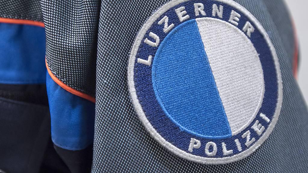Die Luzerner Polizei fasste vier mutmassliche Täter. (Symbolbild)