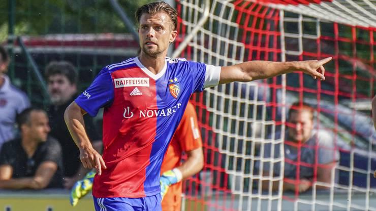 Valentin Stocker trägt im Testspiel gegen Nürnberg erstmals offiziell die Captainbinde.