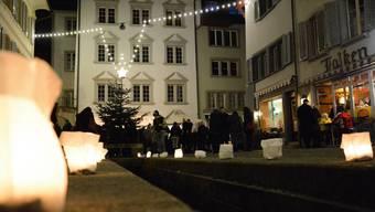 Night Shopping in Aarau