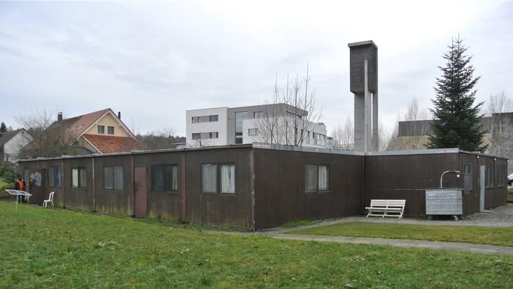 Die Unterkunft für Asylsuchende bei der Guggerwiese in Fislisbach steht seit Ende der 1980er-Jahre.