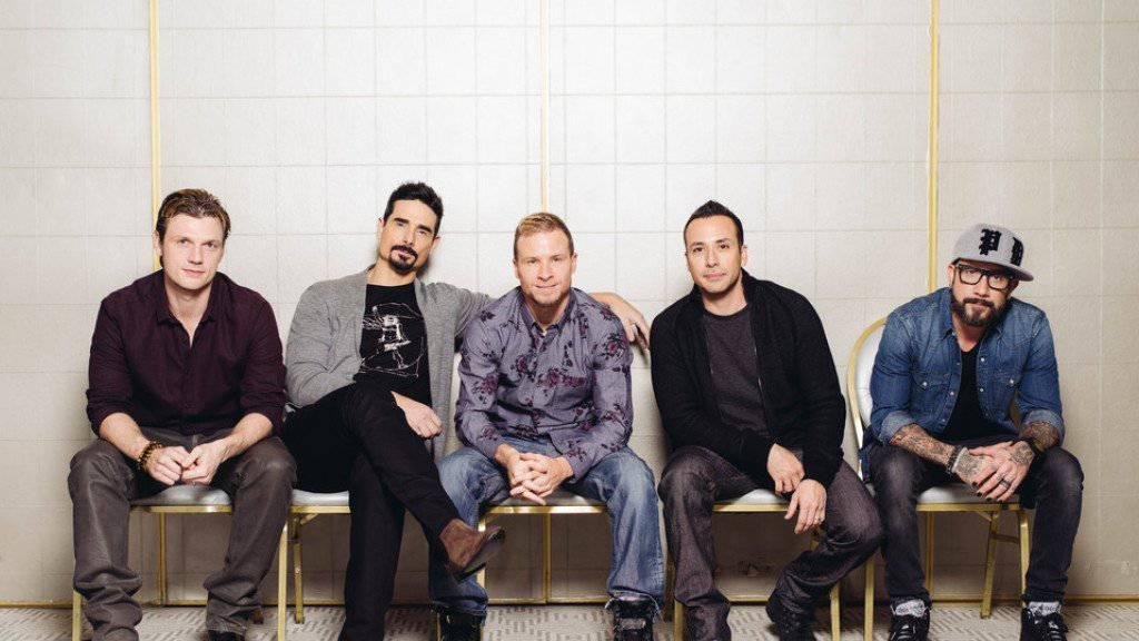 Die Backstreet Boys bekommen eine eigene Show in Las Vegas: Nick Carter, Kevin Richardson, Brian Littrell, Howie Dorough, and AJ McLean gesellen sich zu ansässigen Pop-Diven wie Jennifer Lopez oder Britney Spears. (Archiv)
