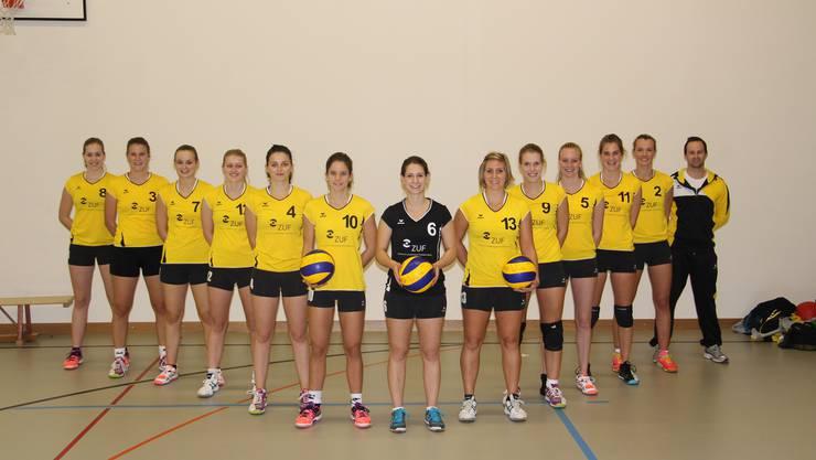 Der ersten Damenmannschaft des SV Volley Wyna ist der Aufstieg in die 2. Liga geglückt.