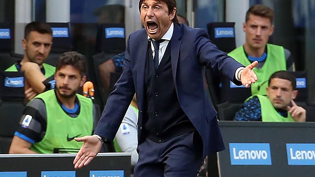 Antonio Conte peitscht Inter Mailand einen weiteren Schritt näher an den ersten Meistertitel seit 2010 heran