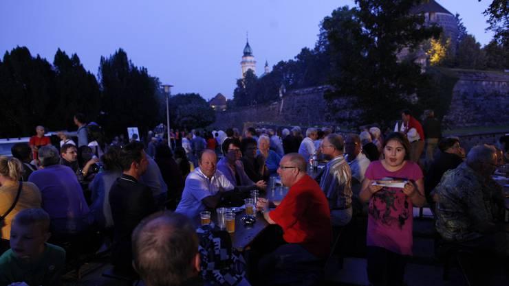 In Solothurn wird ganz auf die Feierlichkeiten verzichtet; eine Einhaltung der Distanzvorschriften an den Festtischen und bei den stehenden Zuschauerinnen und Zuschauern sei nicht möglich. (Archivbild)