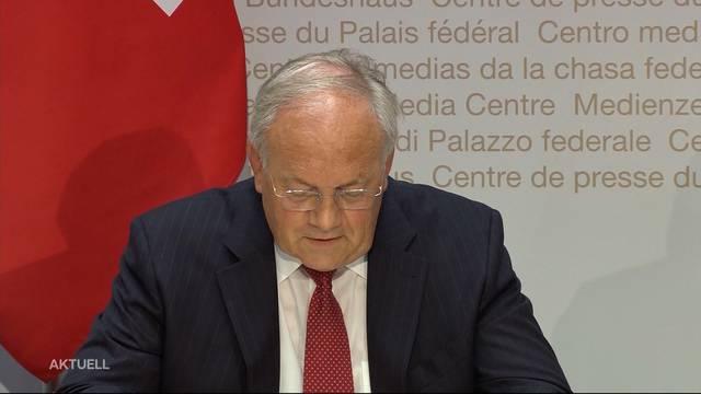Johann Schneider-Ammann verlässt Bundesrat