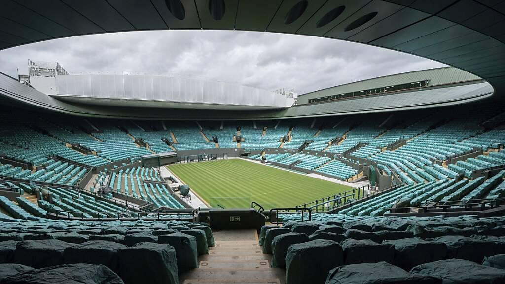 Noch ist offen, wie viele Zuschauer in diesem Jahr in Wimbledon Platz nehmen dürfen
