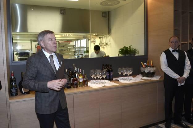 «Wir wollen langsam Eröffnen und alles in Ruhe einüben», so der Geschäftsleiter Marc Haubensak bei der Eröffnung des Hotels.