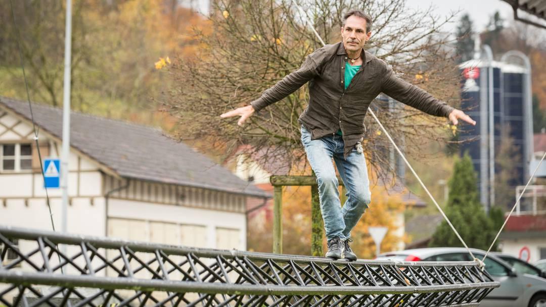 Freddy Nock trainiert in Uerkheim.
