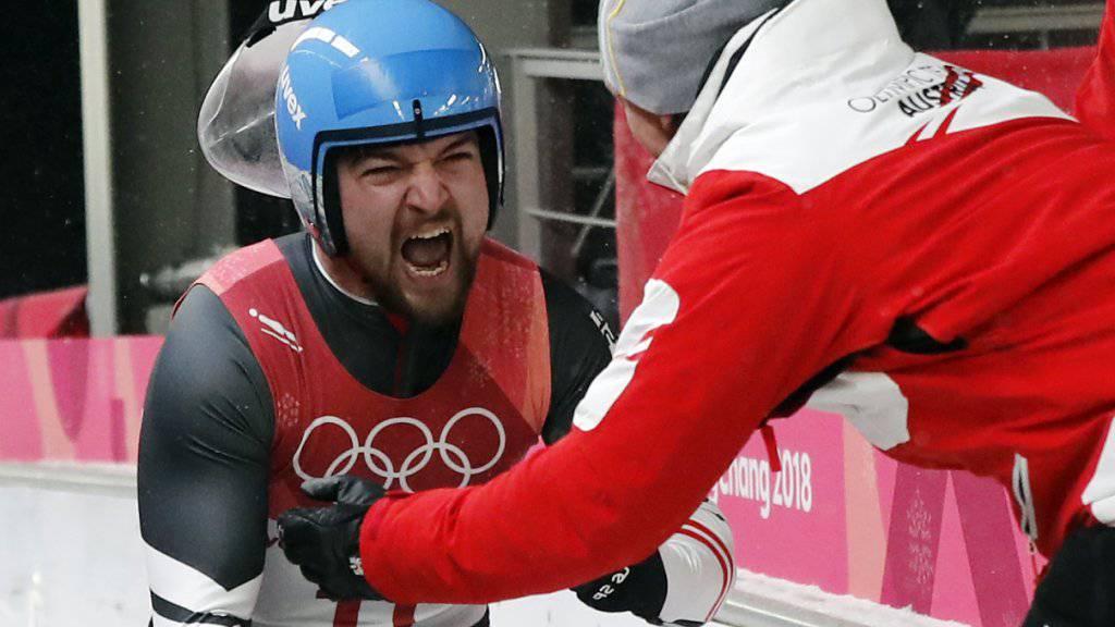 David Gleirscher gewann sensationell Olympia-Gold