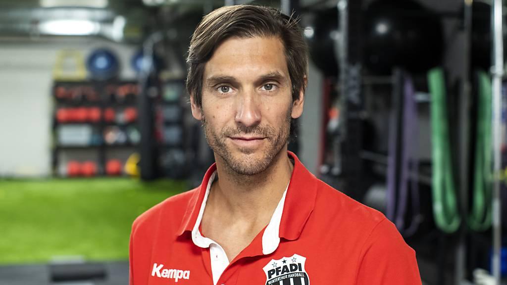 Pfadi Winterthurs Trainer Adrian Brüngger ist für den Handball «relativ zuversichtlich»