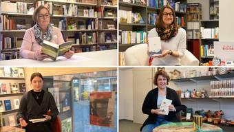 Unsere Bücherexpertinnen.