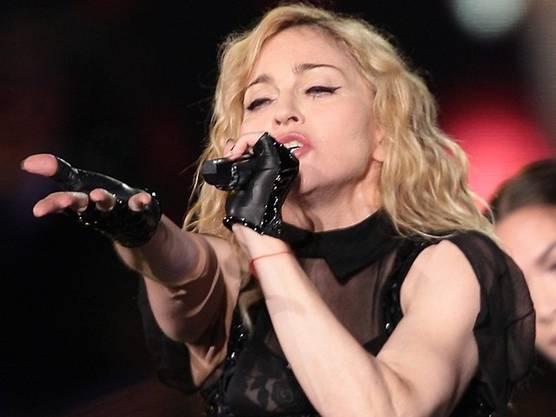 Wird für das Football-Publikum singen: Popstar Madonna (Archiv)