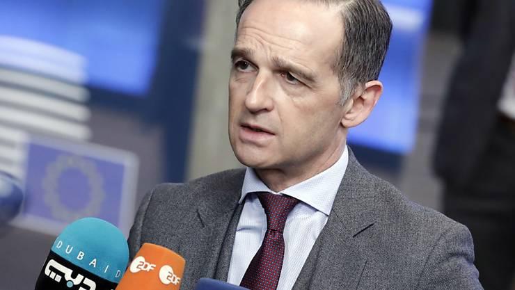 Die EU-Aussenminister haben eine Grundsatzentscheidung für eine neue EU-Marinemission zur Überwachung des Waffenembargos gegen Libyen beschlossen. Dies sagte der deutsche Aussenminister Heiko Maas am Montag in Brüssel.