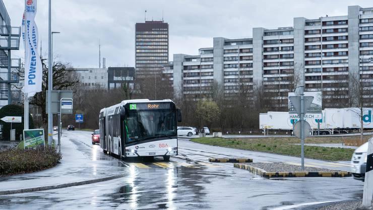 Im Bus vom Bahnhof Aarau ins Telli lassen sich die Abstände nicht immer einhalten. (Symbolbild)